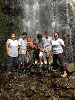2015-2016 WEBLOS Hamama Falls Hike
